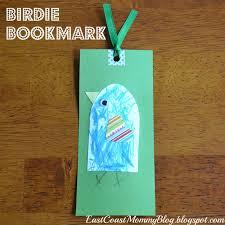 east coast mommy ecm kids u0027 craft club 15 bird bookmark