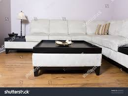 living room setting sectional couch coffee stock photo 68329972