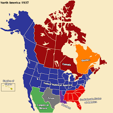 Map Of Confederate States by Althist America Map 1937 1 3 By Daemonofdecay On Deviantart