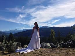 editorial behind the scenes by vancouver wedding dress designer