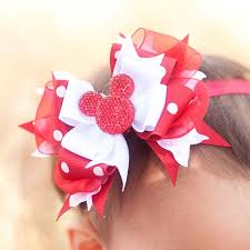 baby bow boutique 33 best minnie mouse bows images on hairbows minnie