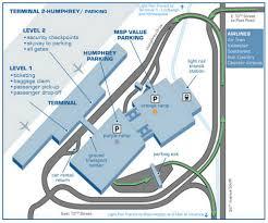 Minneapolis Light Rail Map Airport Terminal Map Minneapolis Airport Humphrey Terminal Jpg