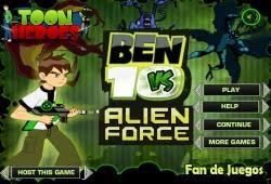 free ben 10 games fan free games