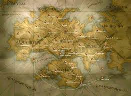 Agartha Map A Map Of Ivalice Circa The War Of The Lions Stuffz Pinterest