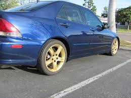2001 lexus is300 wheels stock oem is300 wheels painted white lexus is forum