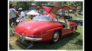 classic red mercedes mercedes benz 300 sl gullwing