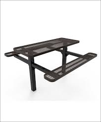 exteriors walk in octagon picnic table plans free modern picnic
