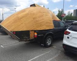 Camper For Truck Bed This Boat Shaped Truck Bed Camper Atbge