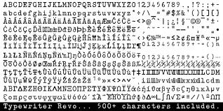 typewriter revo webfont u0026 desktop font myfonts