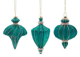 Antique Christmas Ornaments Teal Christmas Ornaments