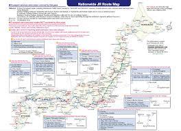 Osaka Train Map Japan Rail Pass Valid Train Route Map