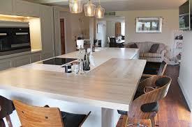 contemporary handle less kitchen by leicht kedleston interiors
