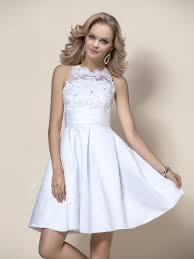 high neck wedding dresses mini beading appliques high neck wedding dress tbdress