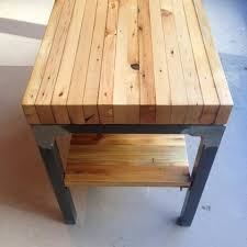 reclaimed wood end table grand boulevard end table workshop