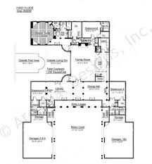 resuscito courtyard house plan ranch style house plan