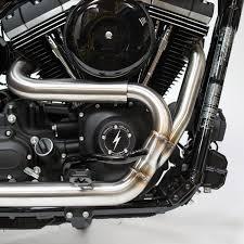 og thrashin stainless steel 2 u003e1 xhaust dyna fxr u2013 thrashin supply