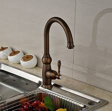 waterfall kitchen faucet contomporary antique brass kitchen faucet cold faucet