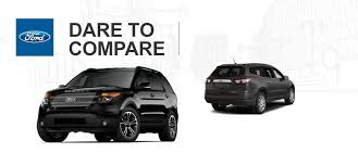 ford explorer vs chevy tahoe brian toliver ford of sulphur springs ford dealership in