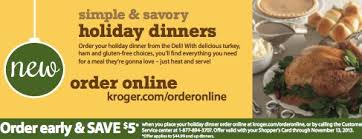 christmas dinner order online save 5 when you place your dinner order at kroger