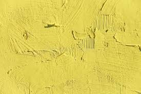 colors close to yellow painting closeup texture plain light yellow color stock image