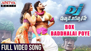 Box Songs Box Baddhalai Poye Song Dj Songs Allu