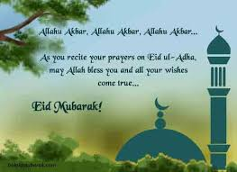 ul adha wishes messages sms for you and your family