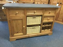 pine kitchen islands pine kitchen island unit with slate top