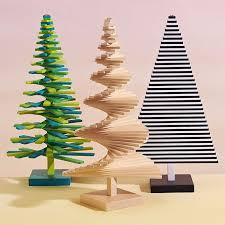 modern christmas tree modern christmas tabletop green christmas tree in gift packaging