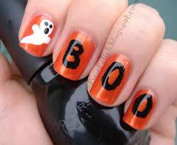 halloween nail designs this is yet another rather simple