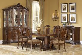 old world 5 pc double pedestal dining room set a r t furniture