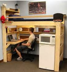 Bunk Beds For College Students Loft Bunk Beds Youth College Adults