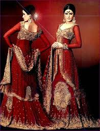 wedding dress designs pakistani 2016