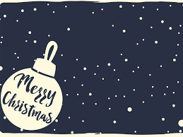 merry christmas ppt backgrounds blue holiday white templates