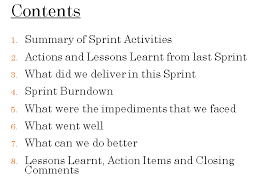 sprint retrospective meeting template with agenda free project