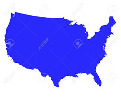Blank Map Of Usa States by United States Outline Stock Photos U0026 Pictures Royalty Free United
