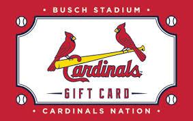 cardinals gift cards st louis cardinals