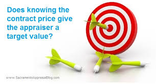 Home Appraisal Value Estimate by Does Knowing The Contract Price Give The Appraiser A Target Value
