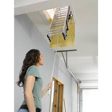 39 pull down loft ladders how to install pull down attic stairs