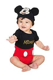Mickey Mouse Toddler Costume Dress Up Mickey Mouse Costume 9 12 Months Amazon Co Uk Baby