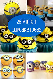 Minion Cake Decorations 26 Minion Cupcake Ideas Baking Smarter