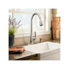 Low Arc Kitchen Faucet by Buy Low Price Moen Haysfield One Handle High Arc Kitchen Faucet