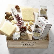 cheese gift basket beehive cheese gift crate williams sonoma