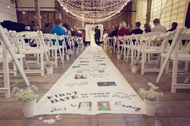 Wedding Aisle Decorations 5 Ideas For Your Ceremony Aisle Décor Bridalguide