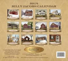 billy jacob s 2018 calendar piper classics this item ships next business day
