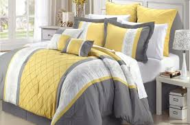 Gray And Yellow Crib Bedding Bedding Set Fearsome Navy White And Yellow Bedding Attractive