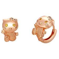 children s hoop earrings aliexpress buy lovely childrens huggie earrings gold