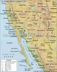 Map Of Cabo Mexico by Buy California U2013 Mexico Connectivity Map