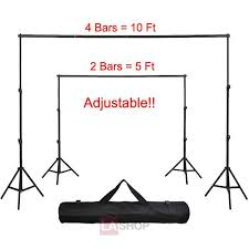 photography backdrop stand 8x10 ft portable photography background backdrop stand kit