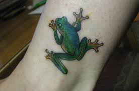 30 brilliant frog tattoos slodive