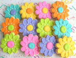 summer flower decorated cookies flower recipes and decorating